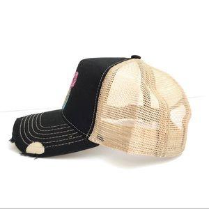 c8948c87c73 Accessories - Custom painted trucker hat!